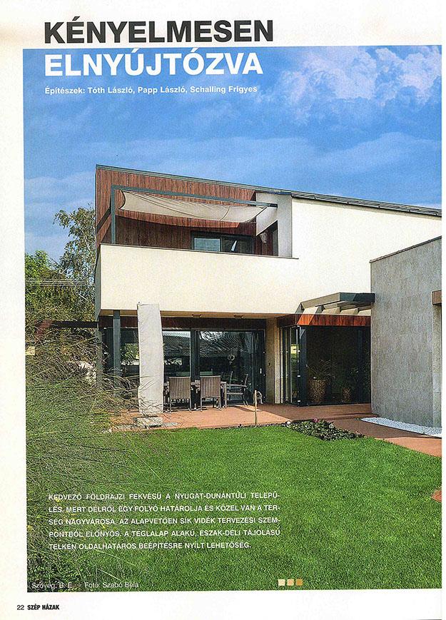 Szép házak 2017/3 Kényelmesen elnyújtózva