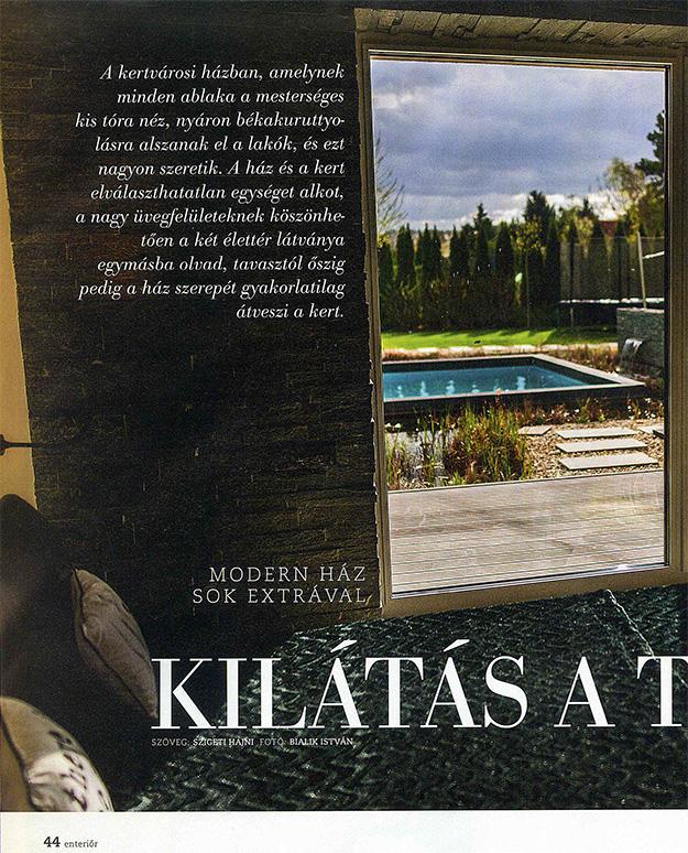 Nők lapja enteriőr 2017/tavasz - Kilátás a tóra