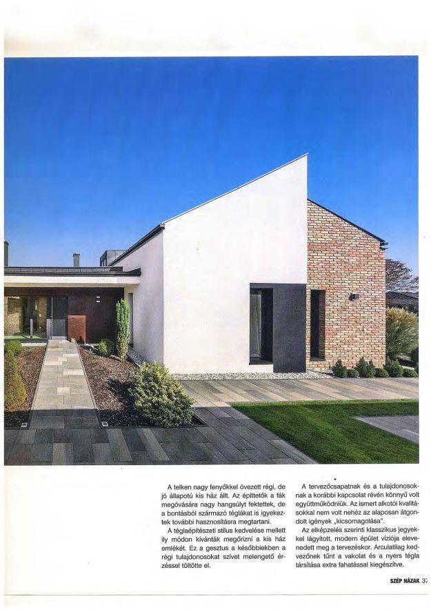 Szép házak 2018/1 Klasszikus jegyekkel fűszerezve