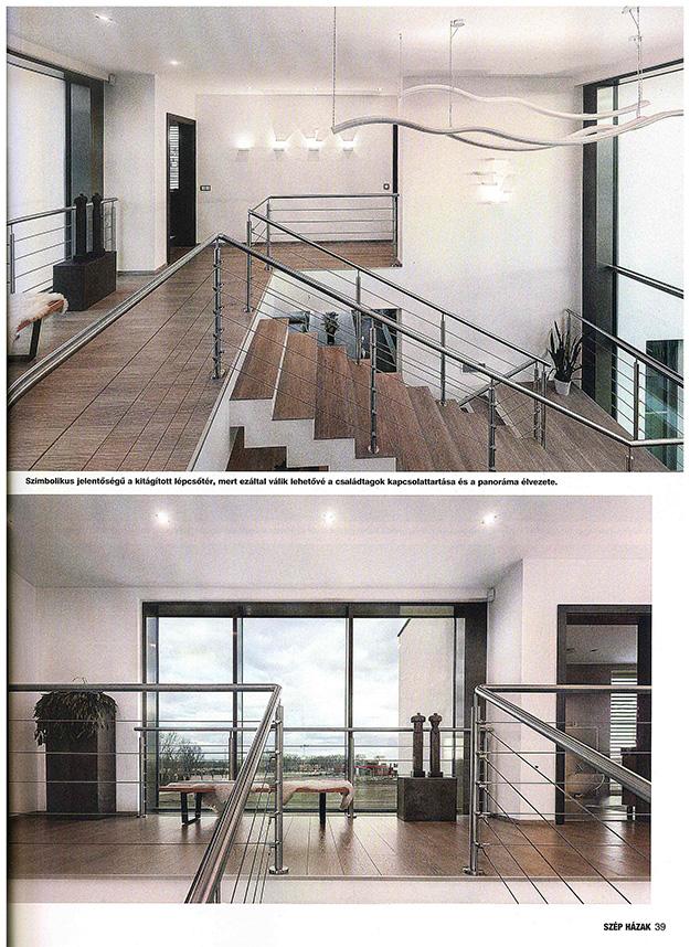 Szép házak 2017/5 Nagyvonalú térszervezés