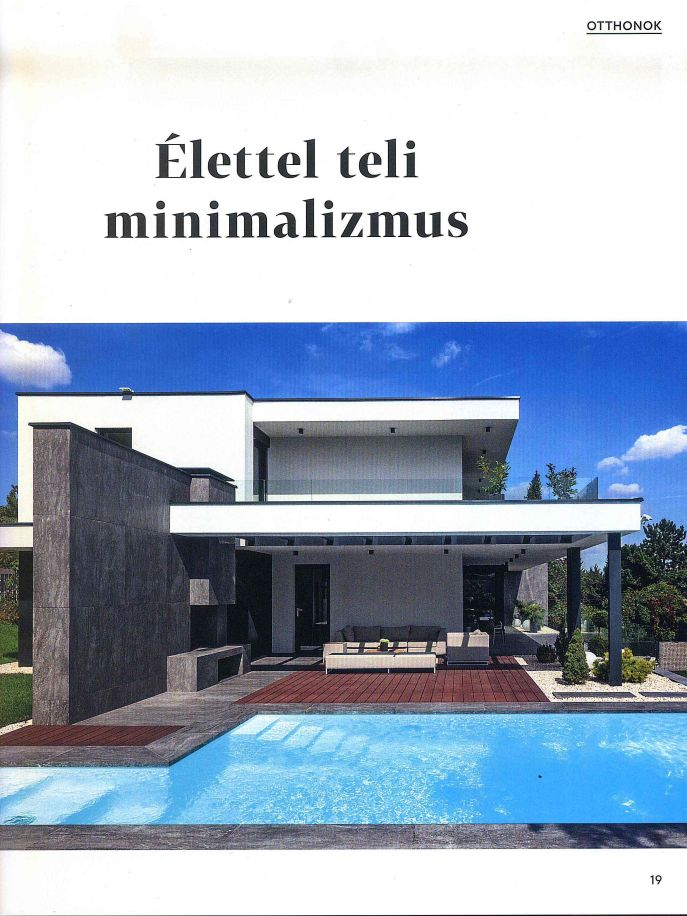 OCTOGON Deco 2018/3 - Élettel teli minimalizmus