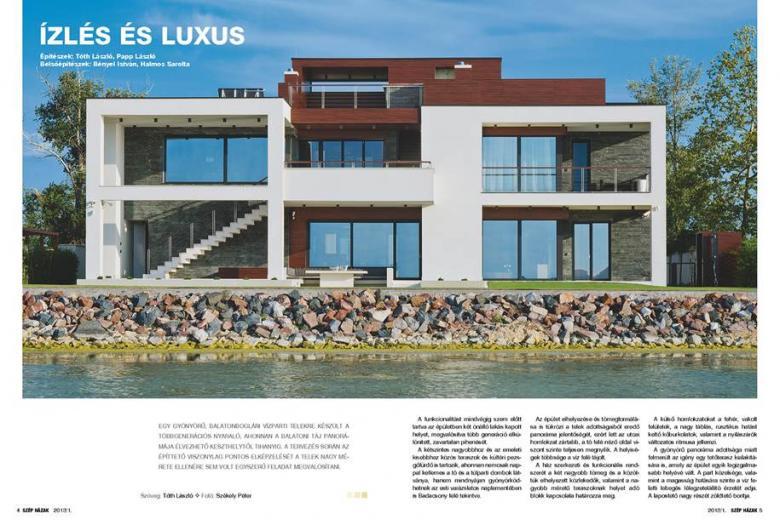 Szép házak 2013/1